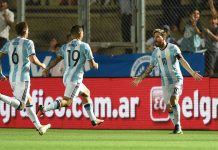 Messi Argentina-Colombia