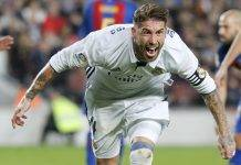 Sergio Ramos Barcellona-Real Madrid