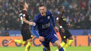 Vardy Leicester City-Manchester City