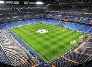 Estadio Santiago Bernabéu Madrid