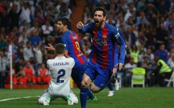 Lionel Messi Barcellona-Real Madrid