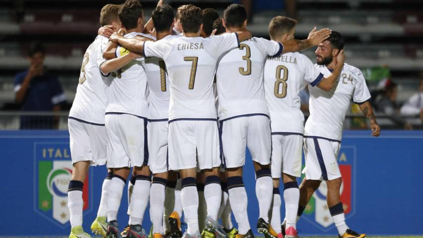 Calcio, pronto riscatto per l'Italia Under21. Battuta la Slovenia 4-1