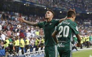 Tonny Sanabria Real Madrid-Real Betis