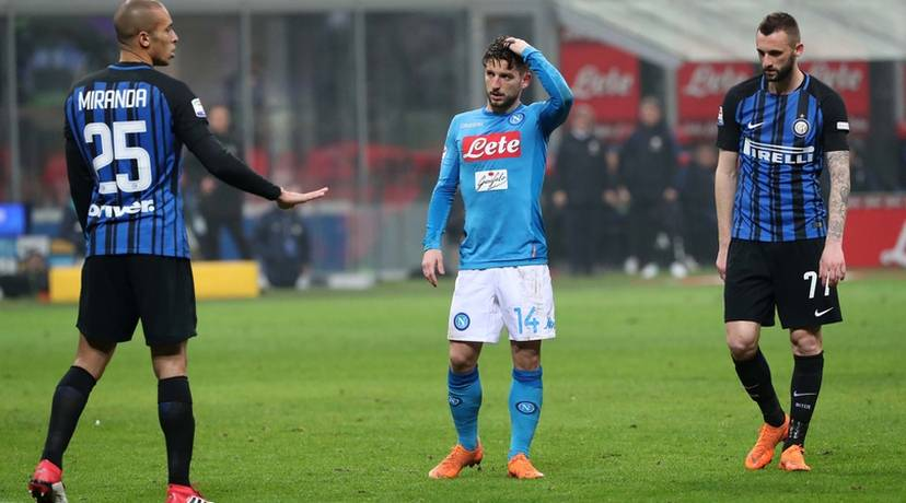 Dries Mertens Inter-Napoli