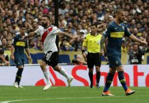 Lucas Pratto Boca Juniors-River Plate