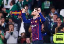 Lionel Messi Betis-Barcellona