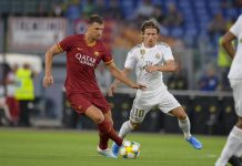 Edin Džeko Roma-Real Madrid