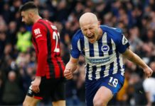 Aaron Mooy Brighton-Bournemouth