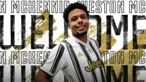 Weston McKennie Juventus